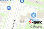 Схема проезда до компании Щит и Меч в Санкт-Петербурге