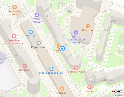 Управляющая компания «ЖИЛСТРОЙСЕРВИС» на карте Санкт-Петербурга