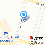 Щит и Меч на карте Санкт-Петербурга