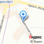Power-way на карте Санкт-Петербурга