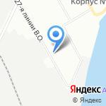 Нерудная Компания на карте Санкт-Петербурга