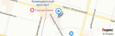 Северо-Запад на карте Санкт-Петербурга