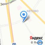 Подводная лодка на карте Санкт-Петербурга