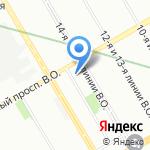 Сила Евангелия на карте Санкт-Петербурга