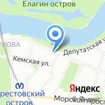 СевзапКамСтрой на карте Санкт-Петербурга
