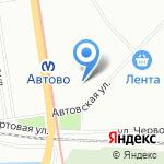 Магазин футбольной атрибутики на карте Санкт-Петербурга