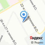 Поли-Астра на карте Санкт-Петербурга