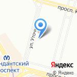 Ломбард-Звезда Невы на карте Санкт-Петербурга