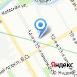 Центр образования №575 на карте Санкт-Петербурга