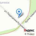 Бионика на карте Санкт-Петербурга