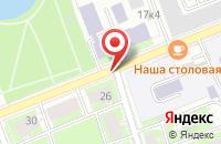 Схема проезда до компании Вояж-Спб в Санкт-Петербурге