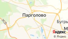 Отели города Парголово на карте