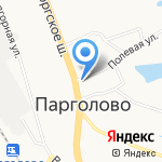 Единый центр цифрового телевидения на карте Санкт-Петербурга