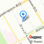 Детский сад №43 на карте Санкт-Петербурга