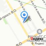 Гимназия №11 на карте Санкт-Петербурга