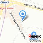 Мезофарм на карте Санкт-Петербурга
