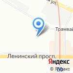 Маленькая мама на карте Санкт-Петербурга