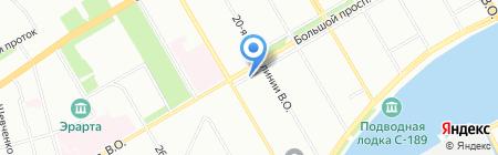 СпецЭлектронМонтаж на карте Санкт-Петербурга