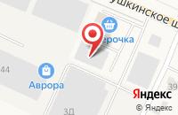 Схема проезда до компании Старко Санкт-Петербург в Малом Карлино