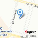 Зазеркалье на карте Санкт-Петербурга