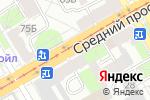 Схема проезда до компании Сомелье в Санкт-Петербурге