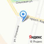 Магазин канцтоваров на карте Санкт-Петербурга