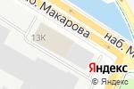 Схема проезда до компании Санс в Санкт-Петербурге