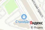 Схема проезда до компании ДорХан в Санкт-Петербурге