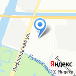 РТК-Питер на карте Санкт-Петербурга