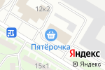 Схема проезда до компании ИнМорСервис в Санкт-Петербурге