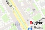 Схема проезда до компании Слот в Санкт-Петербурге