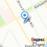 Механобр инжиниринг на карте Санкт-Петербурга