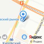 Магазин товаров для дома и дачи на карте Санкт-Петербурга
