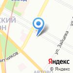 ДЕЛЬТА на карте Санкт-Петербурга