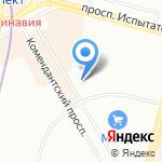 Адвокат на карте Санкт-Петербурга