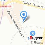 Амиго-моторс на карте Санкт-Петербурга