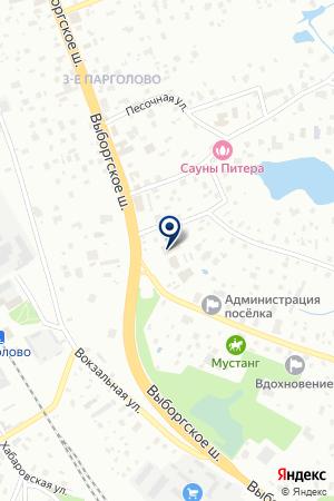 БИЗНЕС-ЦЕНТР МАЛЫЙ ГОСТИНЫЙ на карте Ломоносова