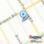 Сенатор Телеком на карте Санкт-Петербурга