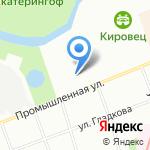 Свик на карте Санкт-Петербурга