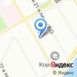 Bump на карте Санкт-Петербурга
