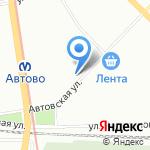 Магазин молочной продукции на карте Санкт-Петербурга