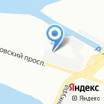 Автотрейд на карте Санкт-Петербурга