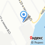 Студия упаковки на карте Санкт-Петербурга