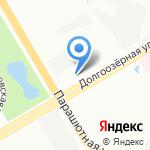 Пожарно-спасательная часть №23 Приморского района на карте Санкт-Петербурга
