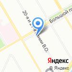 F1 Media Group на карте Санкт-Петербурга