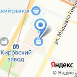В.Шультц и сын Экспедиция на карте Санкт-Петербурга