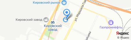 Эндресс+Хаузер на карте Санкт-Петербурга