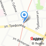 БалтКам на карте Санкт-Петербурга