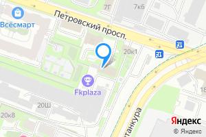 Комната в четырехкомнатной квартире в Санкт-Петербурге Петровский пр-кт, дом 20, корпус 2