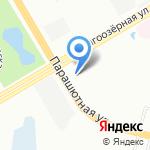 Фон на карте Санкт-Петербурга